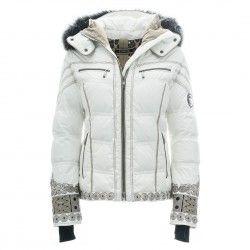 Damen Skijacke CASSIE in white ohne Pelz | Jacken, Skijacke