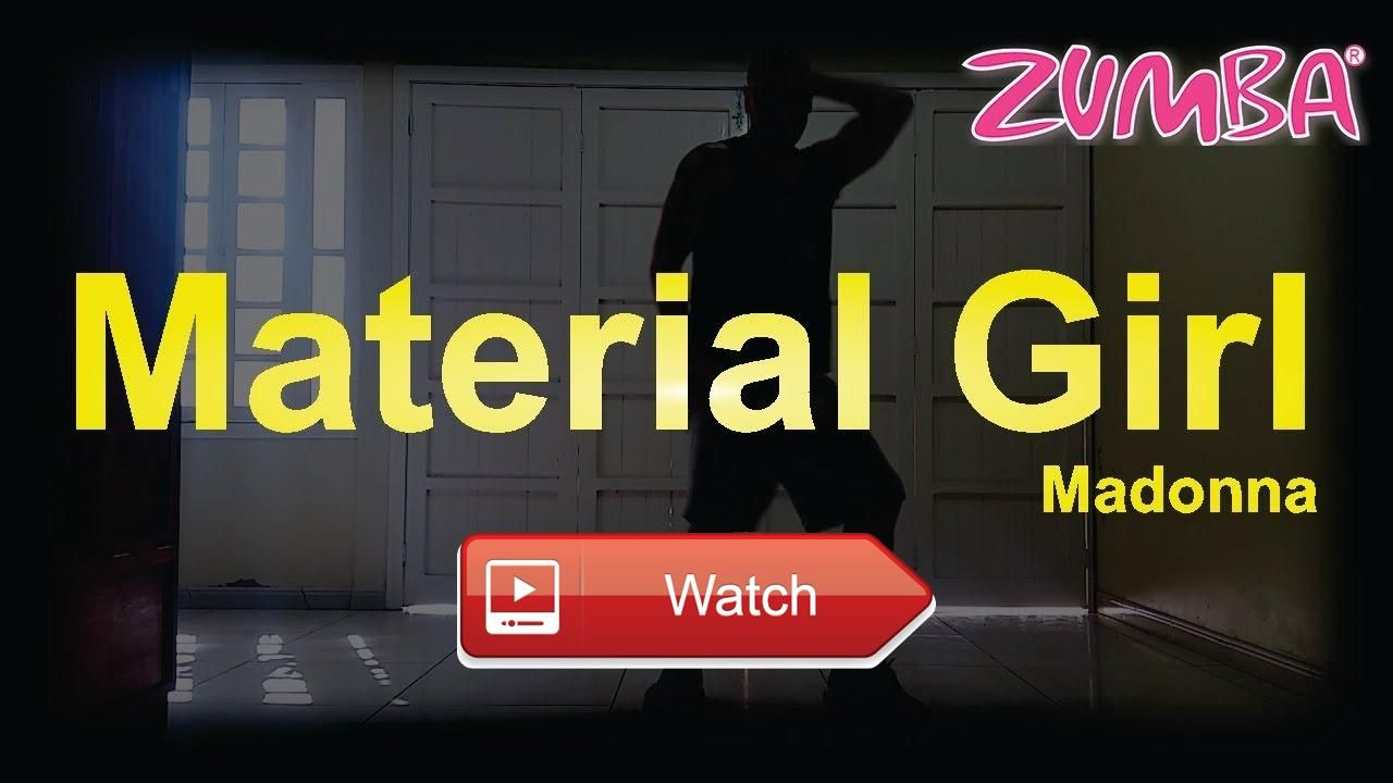 Material Girl Madonna Zumba Fitness Coreografia Coreography Curta