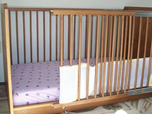 Modified Crib For Parent With Disability Cribs Baby Bed Diy Crib