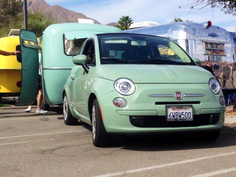 Happier camper Sage Coach ultra light vintage travel
