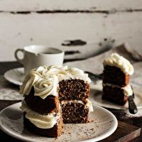 Black Tea Cake with Honey Buttercream by Pastry Affair