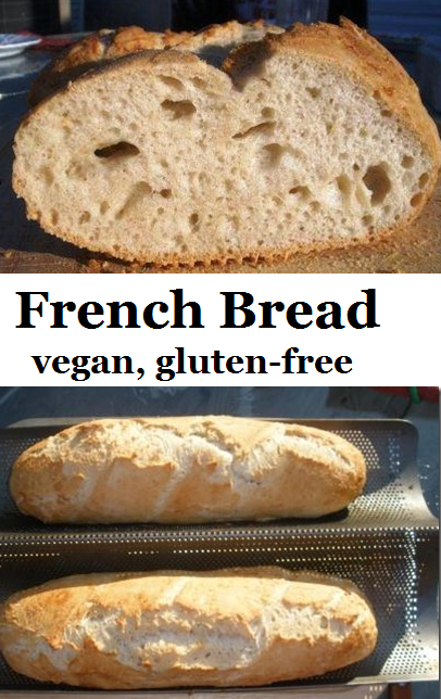 French bread - vegan, gluten-free (With images) | Recipes ...