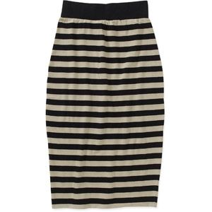 Women's Striped Knit Bodycon Skirt #budgetbabecontest