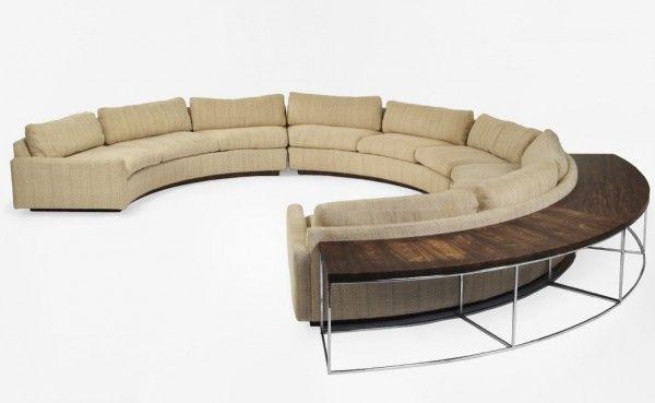 Milo Baughman Sofa And Table Doobybrain