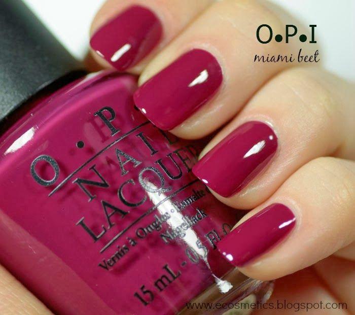 Miami Beet | OPI | Pinterest | Esmalte, Diseños de uñas y Manicuras
