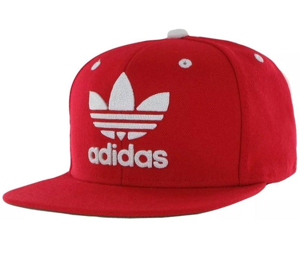 deb52dd8edc ADIDAS ORIGINALS Scarlet Red TREFOIL CHAIN SNAPBACK ADJUSTABLE HAT CAP MENS  NEW  fashion  clothing  shoes  accessories  mensaccessories  hats (ebay  link)
