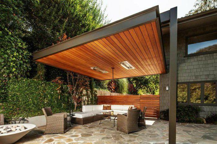 Pergolas de madera dise o pr ctico en 42 ideas creativas for Patios y terrazas disenos
