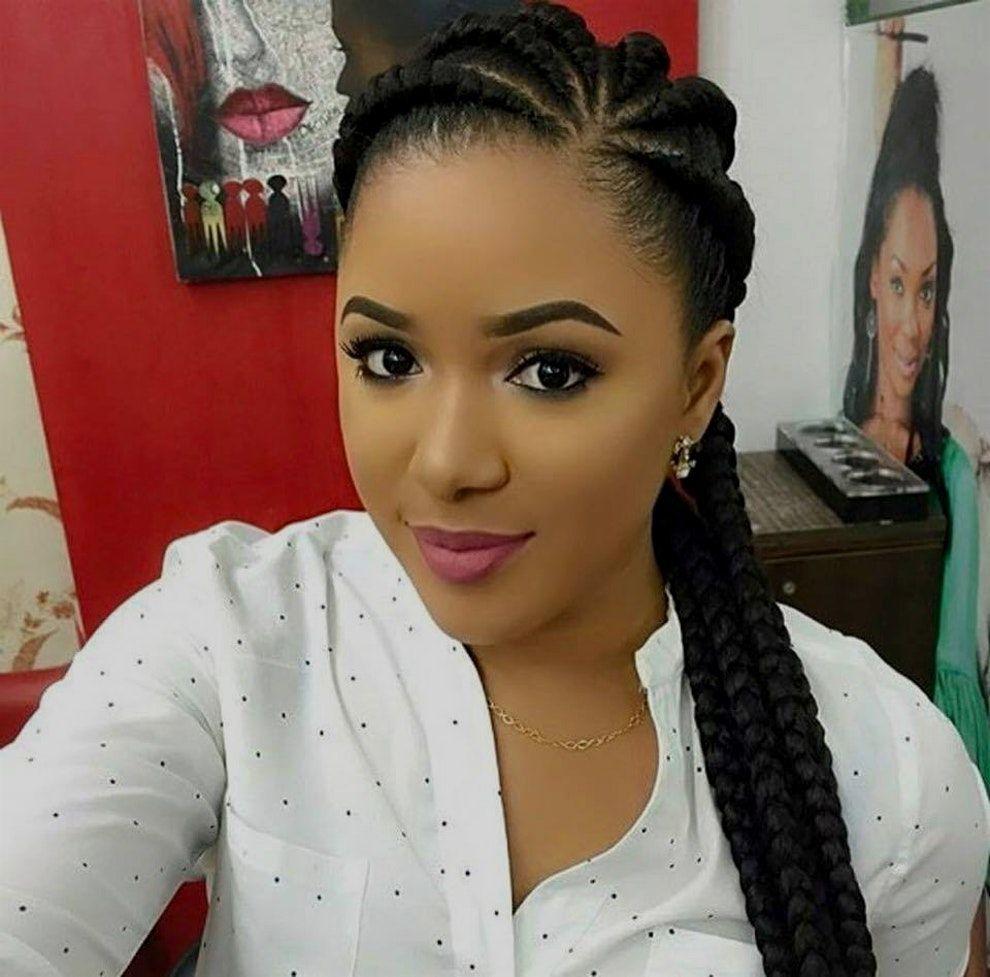 Coiffure Avec Tresse Africaine Bruno Pele Energie Renouvelable Lemonade Braids Hairstyles Braided Hairstyles Box Braids Hairstyles