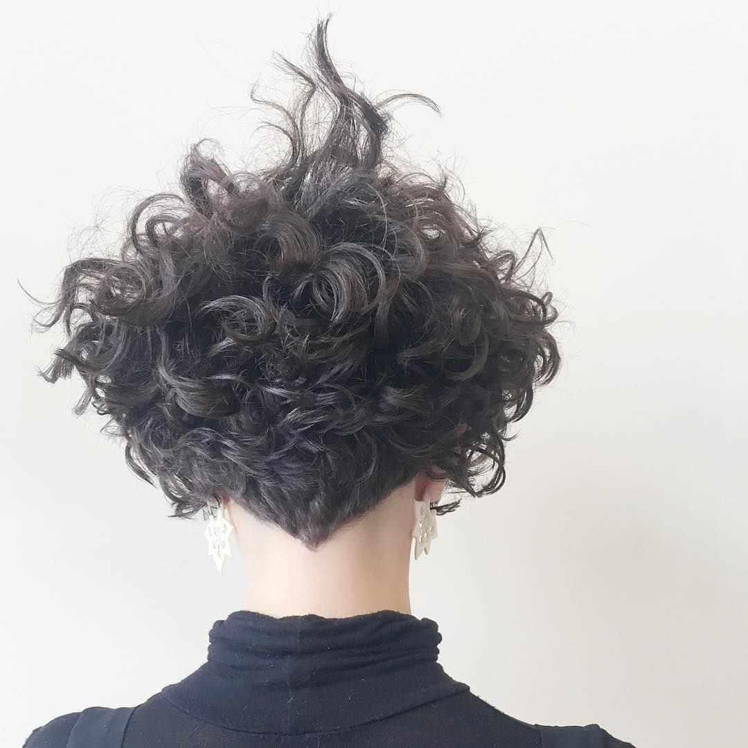 Pin By Annette Lemmer On Hair In 2020 Messy Short Hair Curly Bob Hairstyles Hair Styles