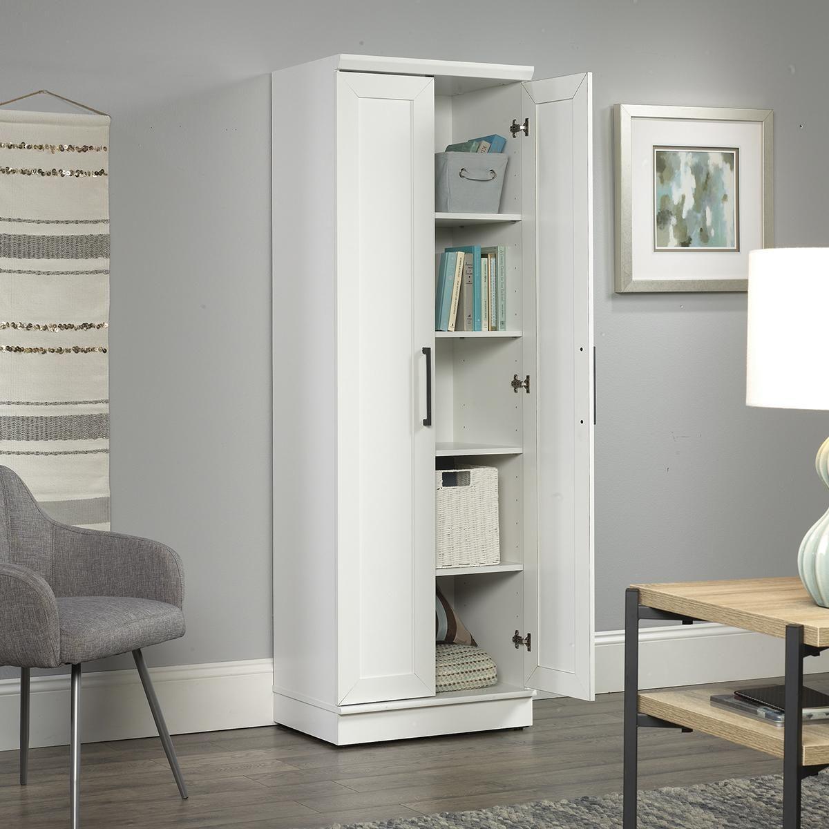 Sauder Woodworking White Cabinet