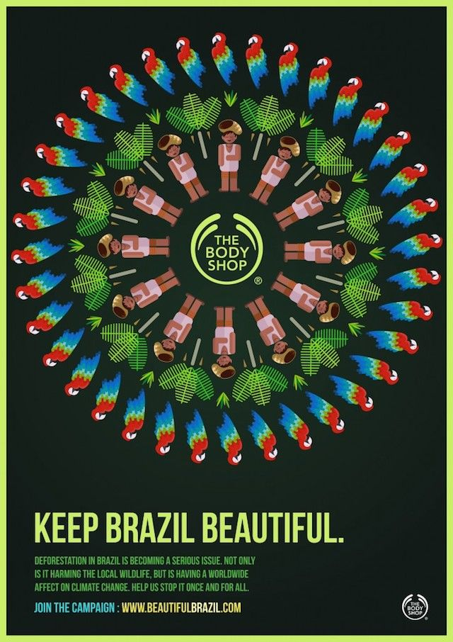 Tropical Posters for Body Shop Campaign-5b