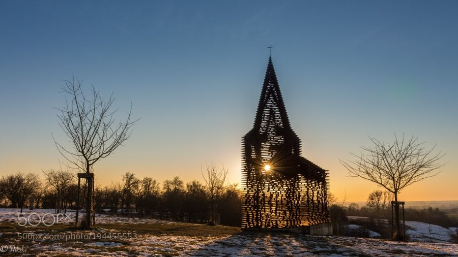 See-through Church by KerkhofsNico