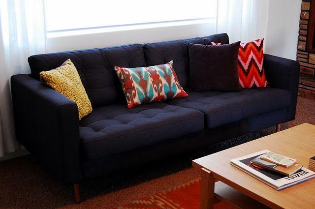 Ikea Hack Tufted Karlstad Sofa With New Legs