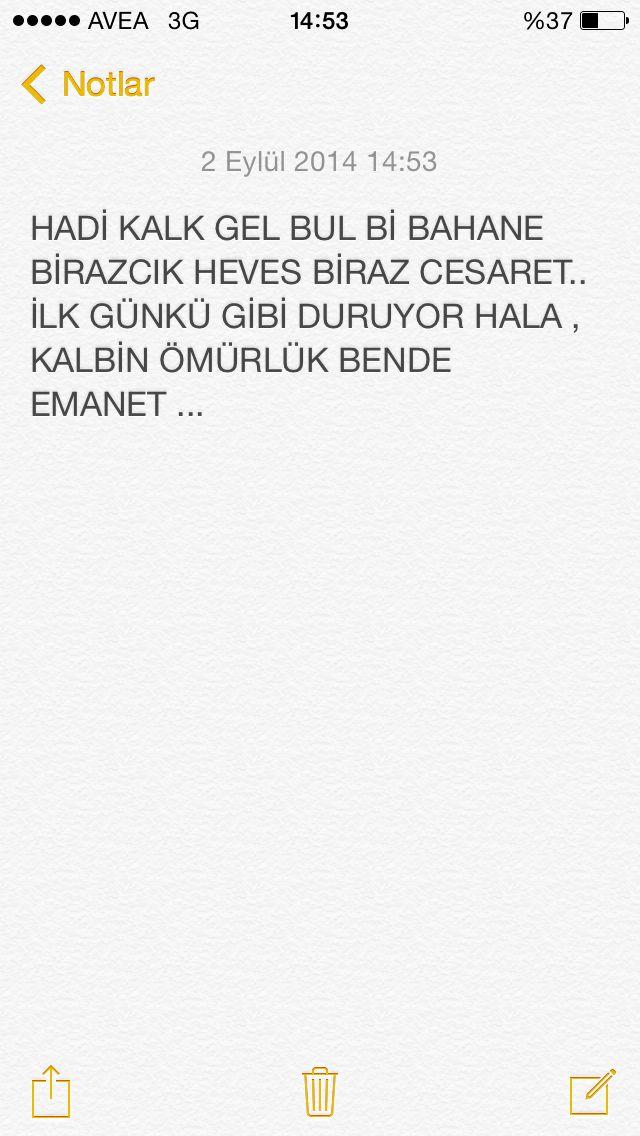 KALBİN ÖMÜRLÜK BENDE EMANET ..