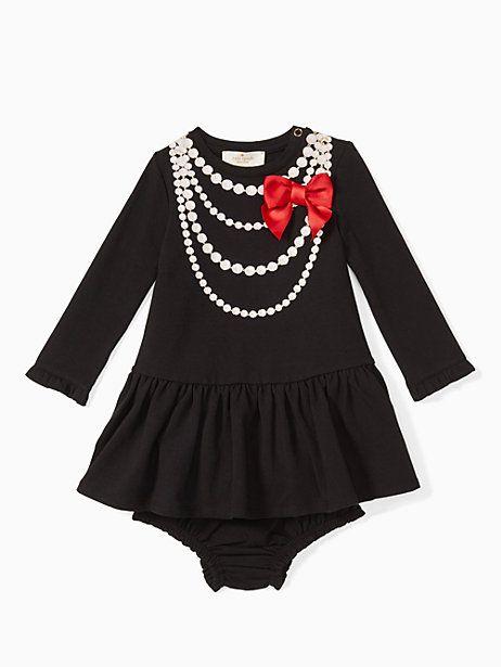 ac46d0a7a2e Kate Spade Babies  Pearl Necklace Dress Set