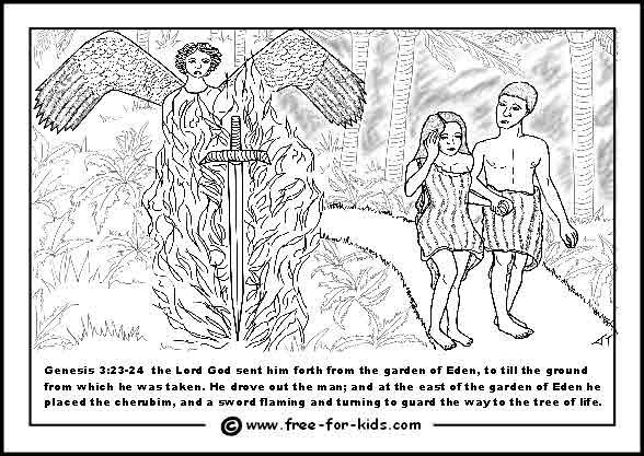 Adam And Eve Colouring Pages Adam And Eve Coloring Pages Superhero Coloring Pages