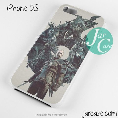Witcher 3 Wild Hunt Geralt Phone case for iPhone 4/4s/5/5c/5s/6/6 plus