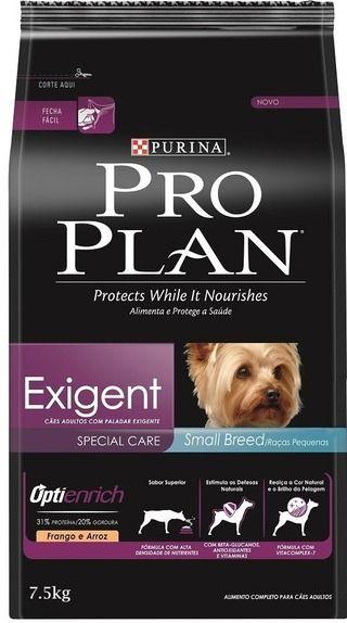Concentrado Pro Plan Exigent Dog Razas Pequenas Con Imagenes