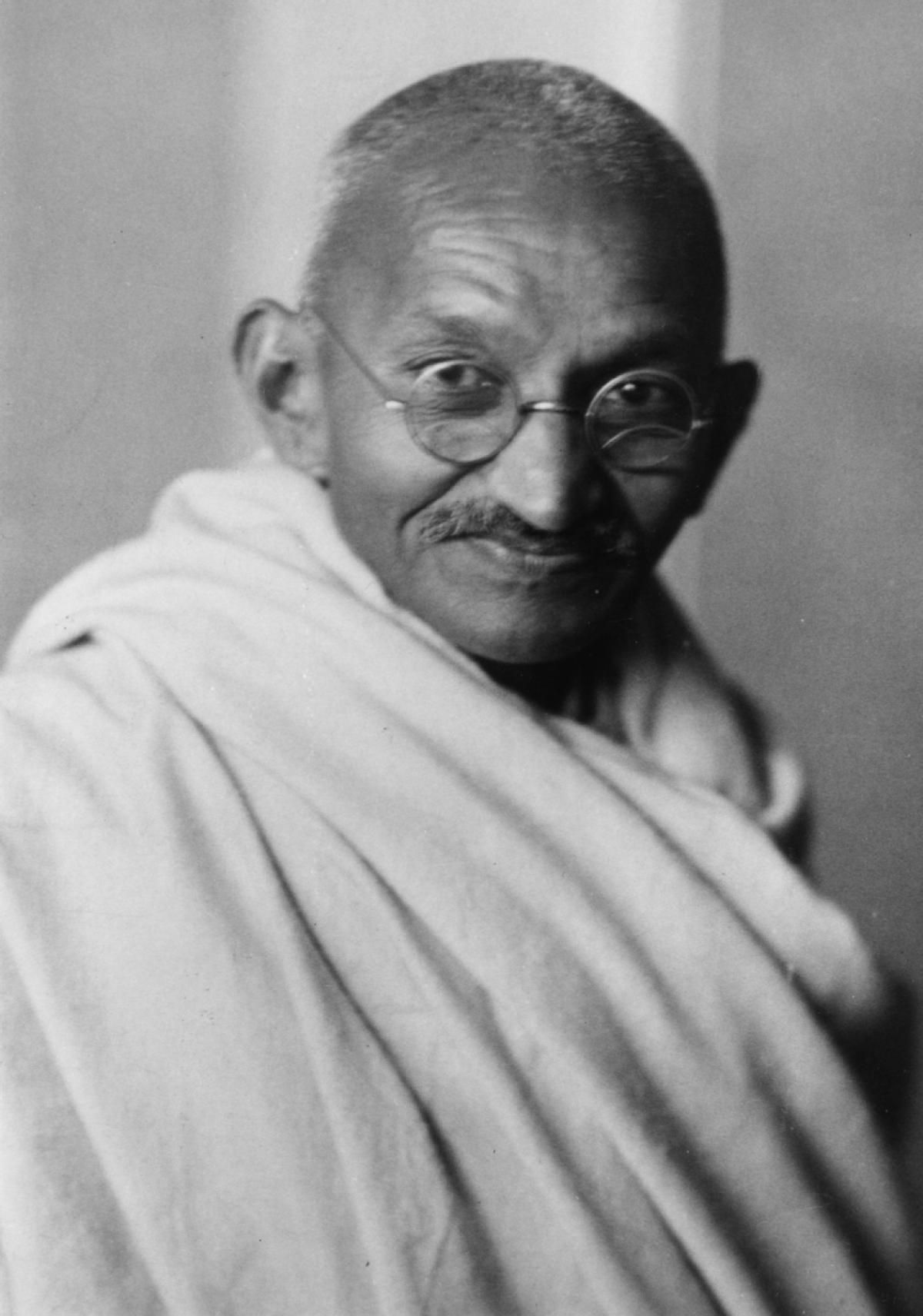 On Jan. 30, 1948, Mohandas 'Mahatma' Gandhi, leader of the