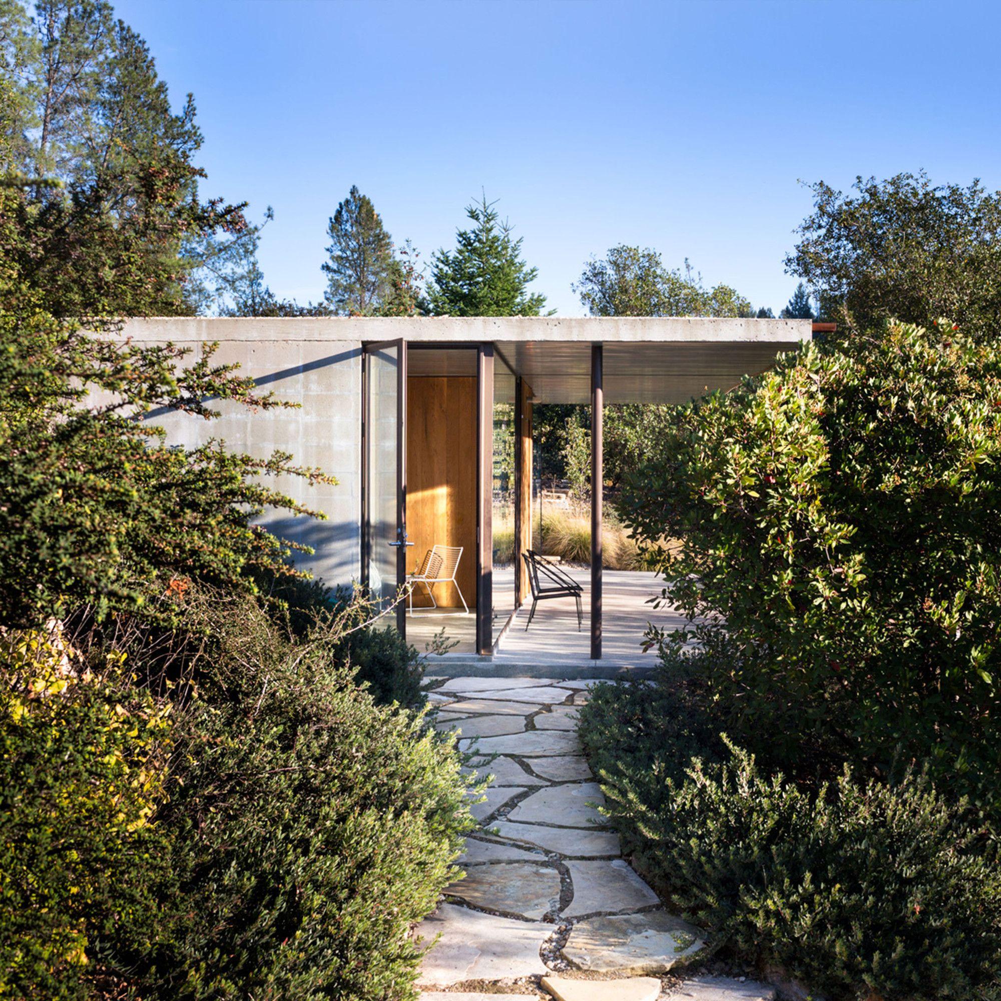 Atlanta S Premiere Landscape Architect: Napa Valley House / Steven Harris Architects