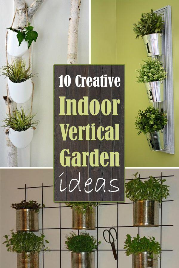 10 creative indoor vertical garden ideas vertical garden on indoor vertical garden wall diy id=68018