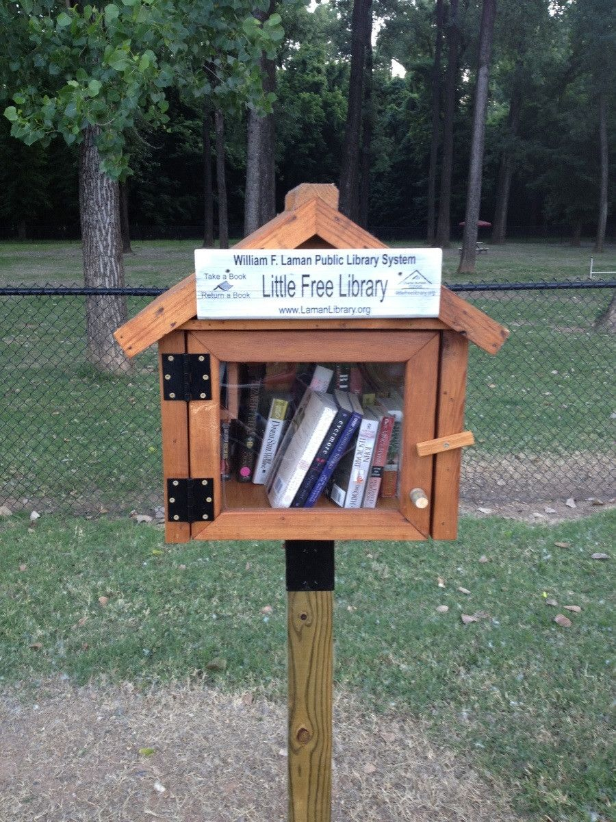 Free Library Take one, leave one. Free library, Little