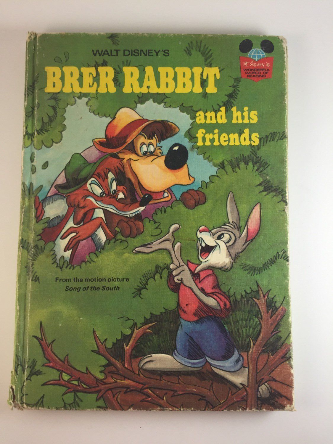 Walt Disney S Brer Rabbit And His Friends 1973 Vintage Children S Book By Maggiemaesmemories On Etsy Vintagemagaz Disney Books Disney Book Club Vintage Disney