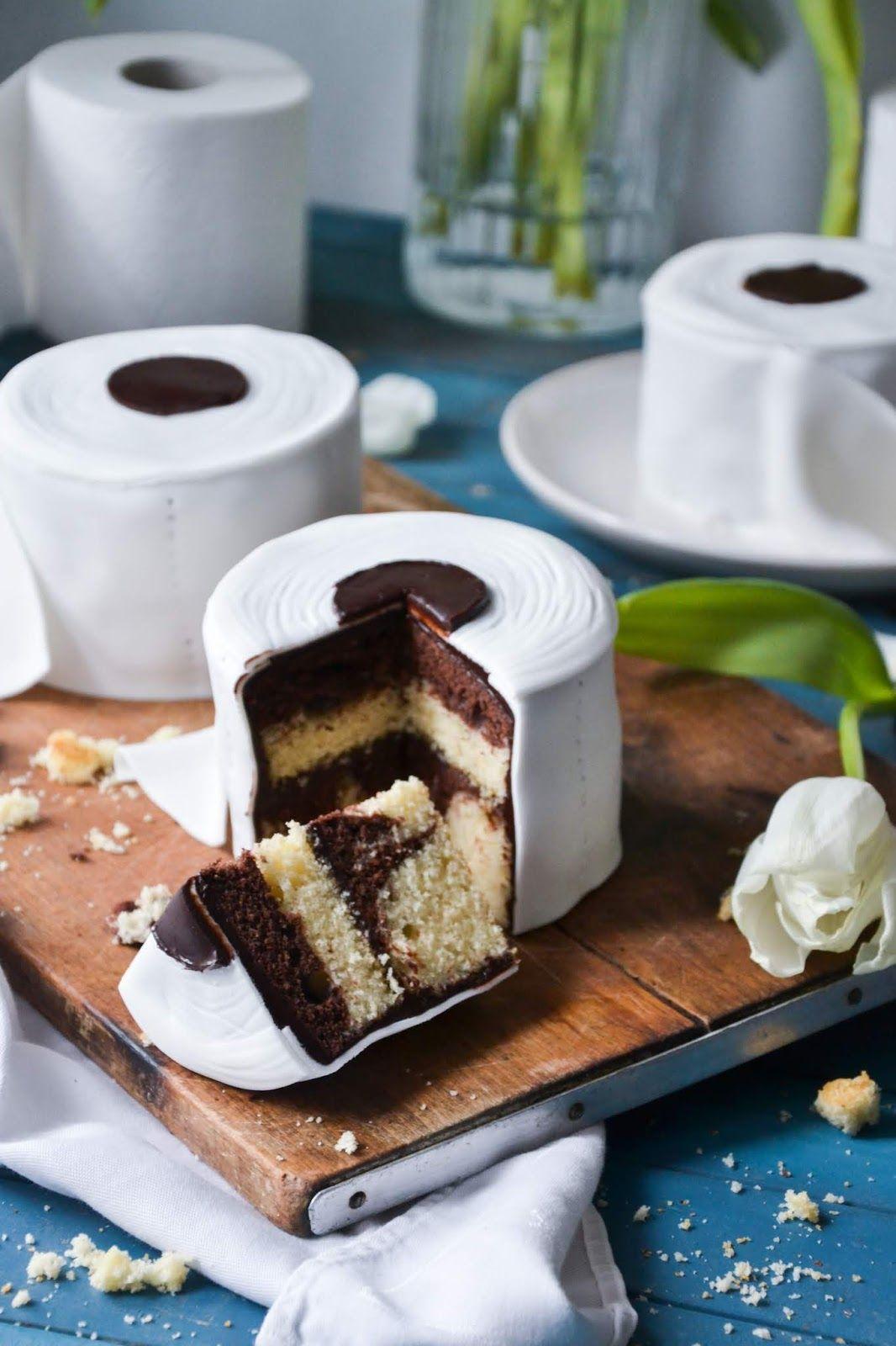 Christina Macht Was Toilettenpapiertorte Klopapierkuchen Klopapiertortchen In 2020 Kuchen Rezepte Einfach Toilettenpapiertorte Klopapiertorte