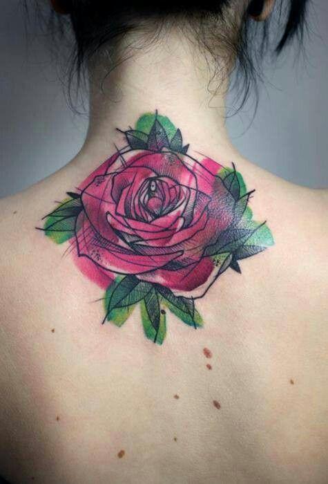 Cool twist on a rose