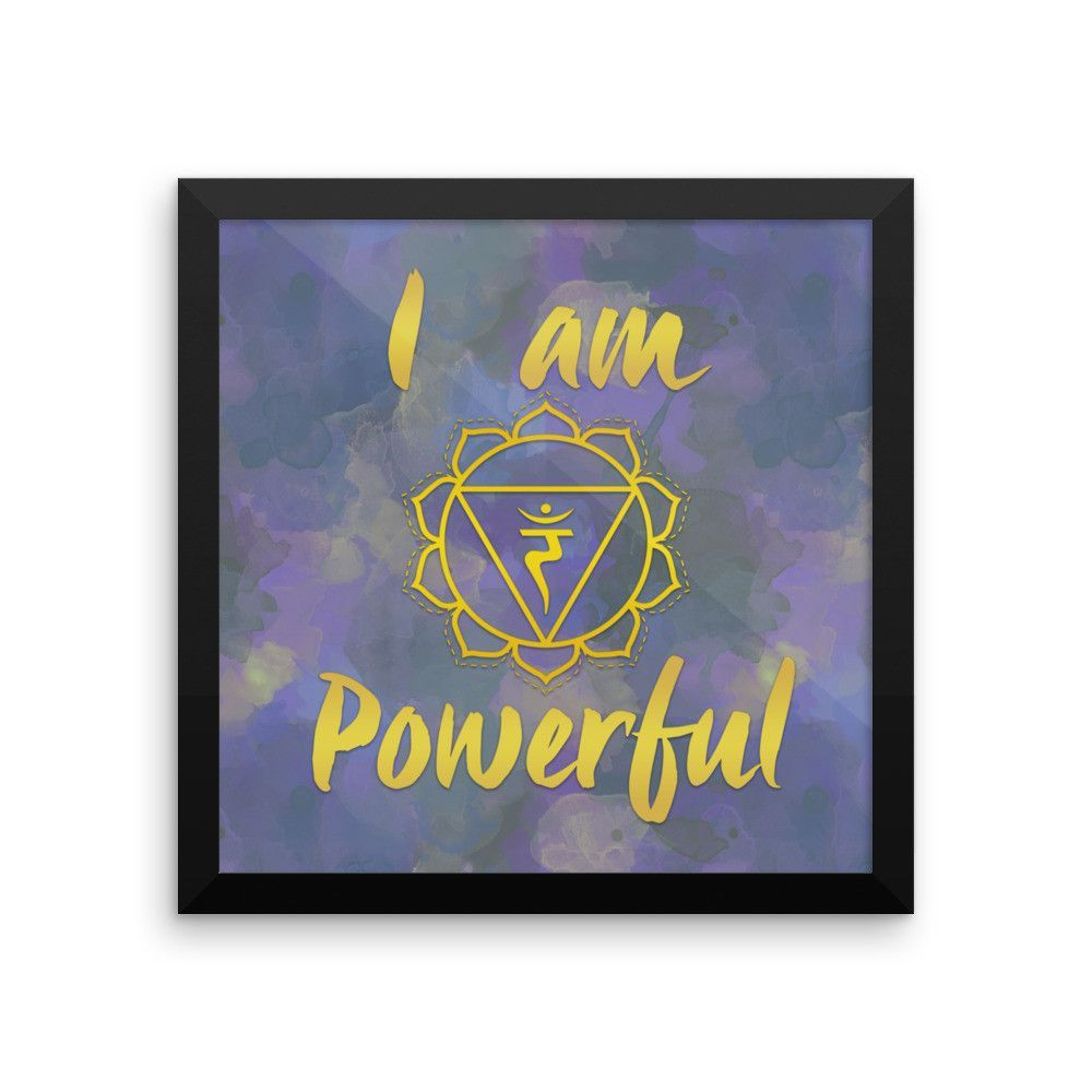 3rd Chakra Powerful Photo Paper Poster