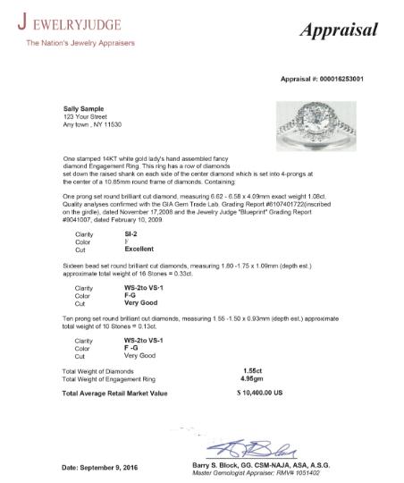 18 Jewelry Appraisal Certificate Templates Pdf Word Excel Template Sumo Certificate Templates Jewelry Appraisal Excel Templates