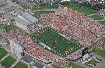 Jack Trice Stadium Iowa State Football Iowa State Iowa State Cyclones