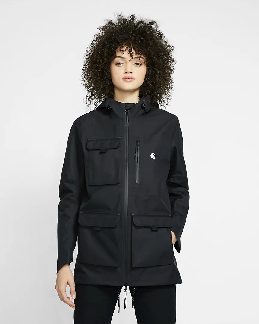 Photo of Hurley x Carhartt Phantom Defender Girls's Jacket. Nike.com