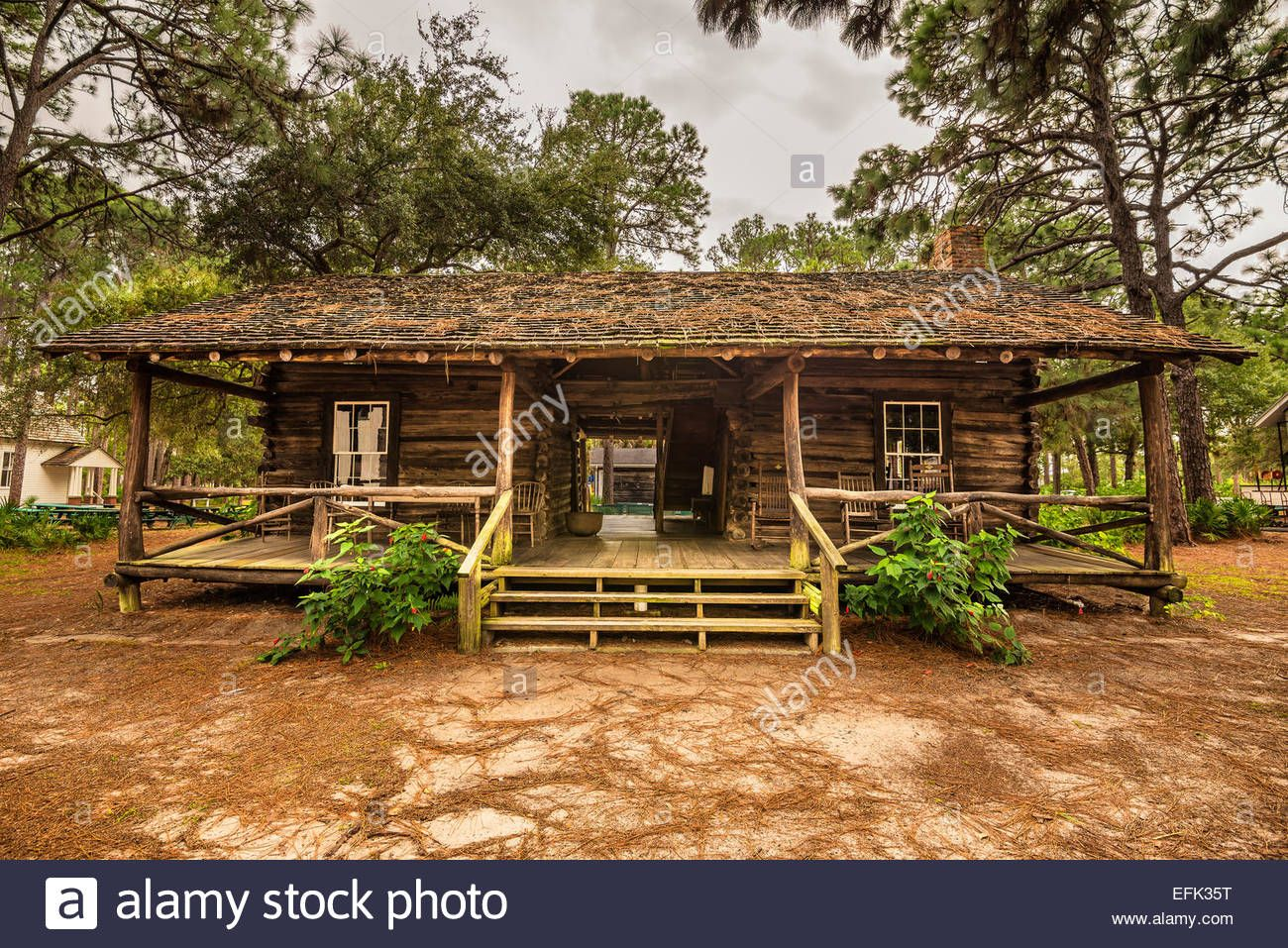Download This Stock Image Mcmullen Coachman Log House In The