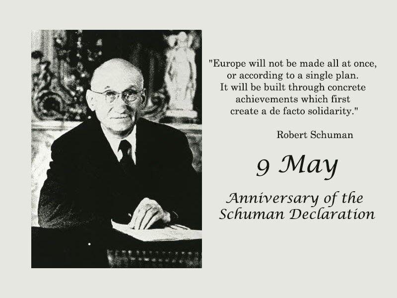 Kết quả hình ảnh cho schuman declaration