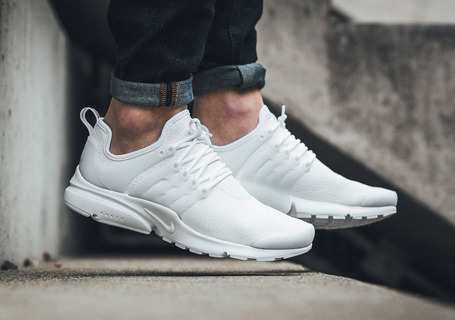 finest selection 742a9 d7ad7 Nike Air Presto White Leather 878071-101 | Running&Aparel ...