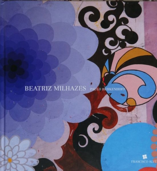 Beatriz Milhazes - Cor e Volúpia - Livro de capa dura c