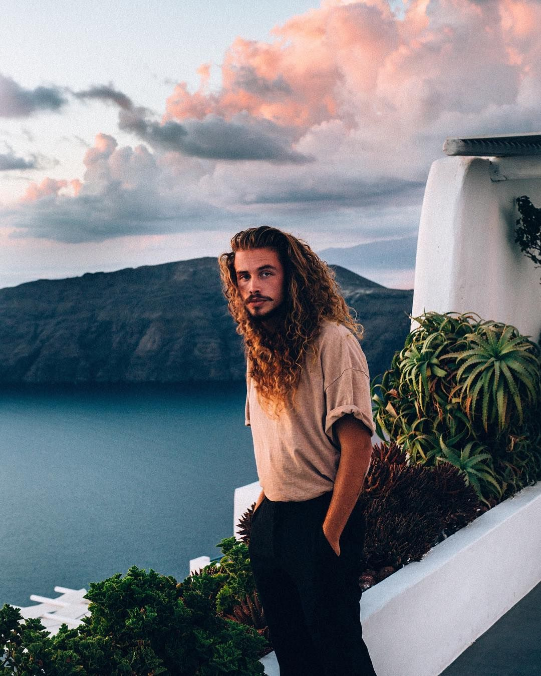 Long curly hair for men long hair inspiration long natural hair - Long Hair For Men Long Curly Hair For Men Long Natural Hair Curly