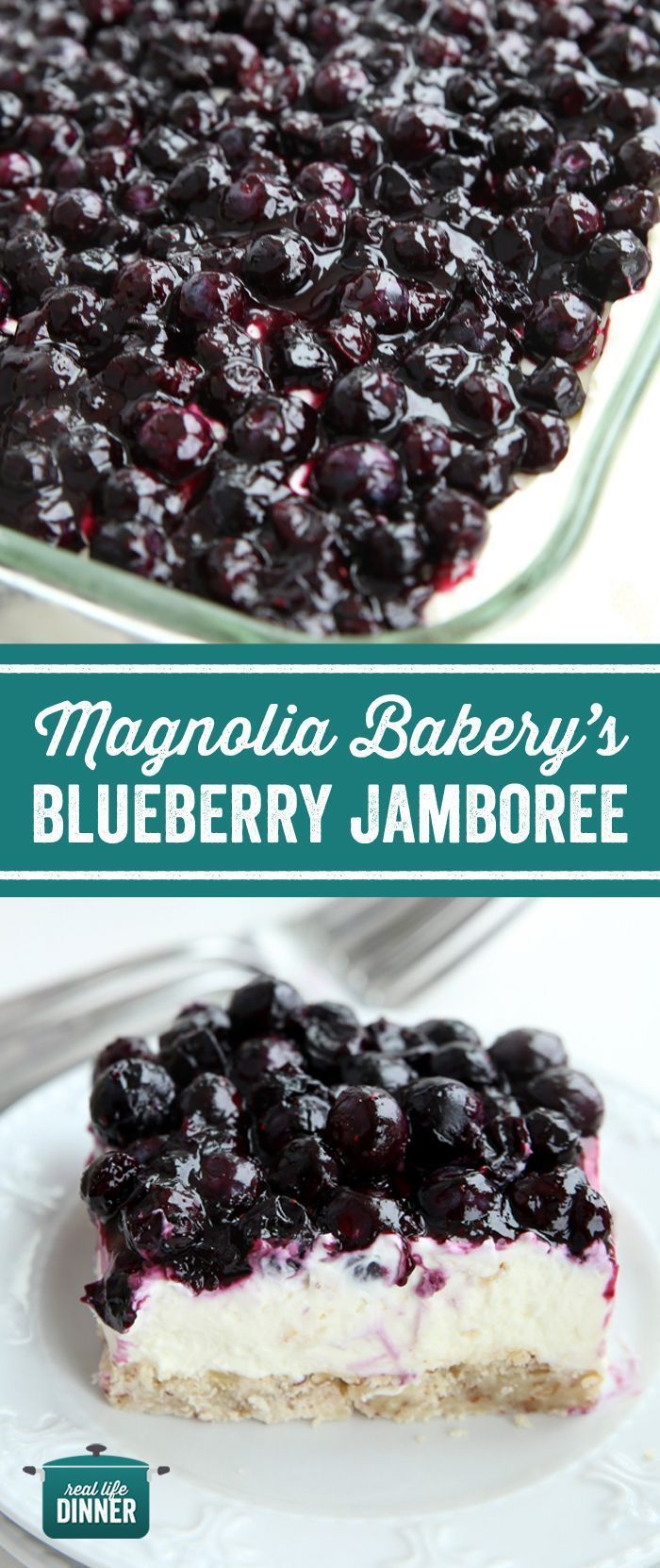 Photo of Magnolia Bakery Blueberry Jamboree – Real Life Dinner