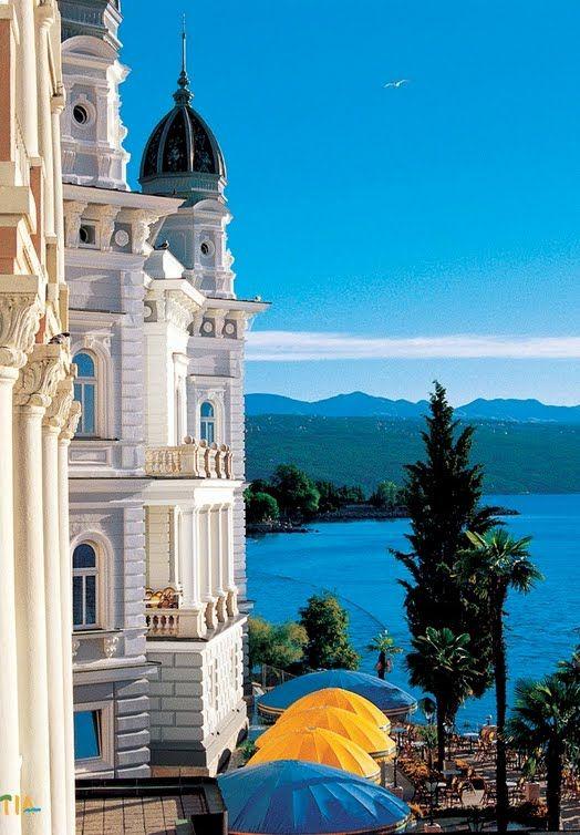 Opatija Croatia Travel Around The World Places To Go Croatia