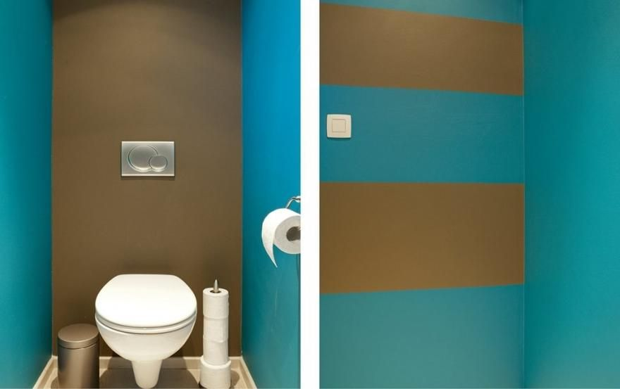 Quelle Couleur Pour Repeindre Les Toilettes Repeindre Toilettes Decoration Toilettes Toilettes