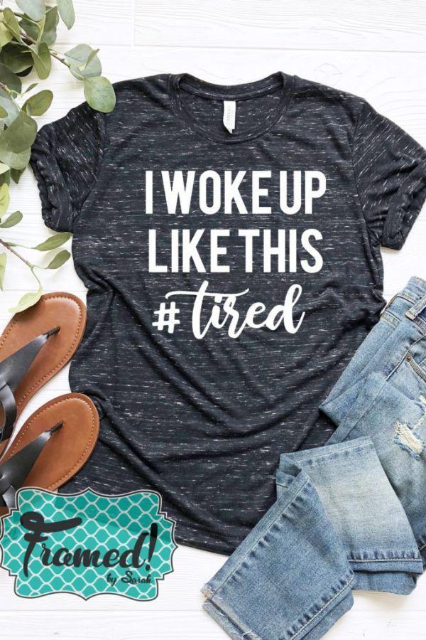 'I Woke Up Like This' April T-Shirt Club