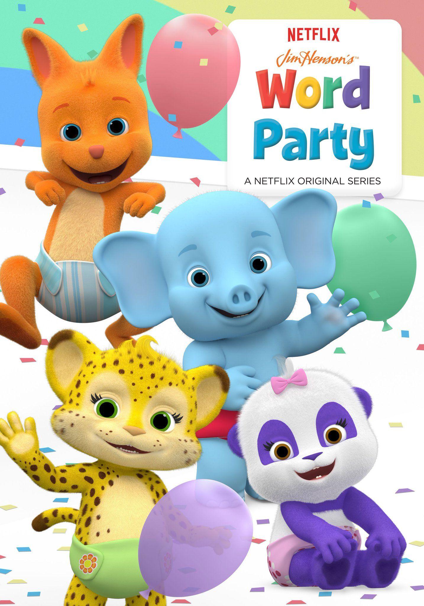 Word Party On Primer Cumpleanos Cumpleanos Fiesta Cumpleanos