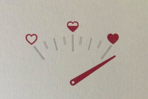 Super Cute Letterpress Valentine S Day Card On Etsy With Images