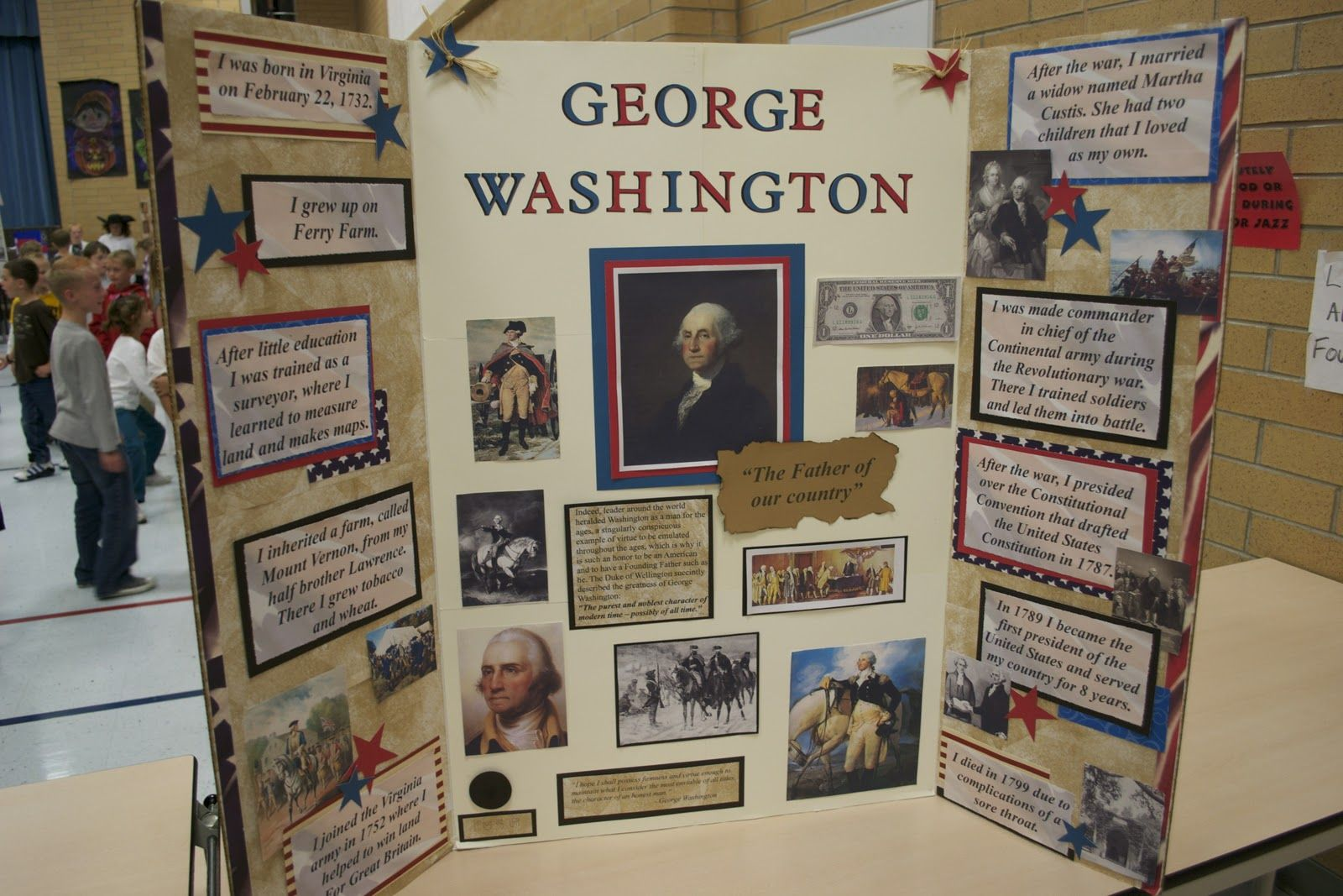 Great ideas for doing a Wax Museum Book Report at your school with ... for Cool Poster Ideas For School Projects  587fsj