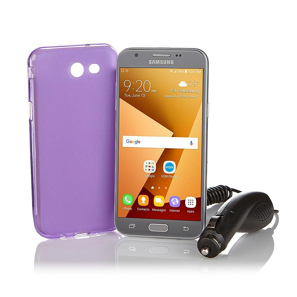 "Samsung Galaxy J3 Emerge 5"" Smartphone with Car Charger"