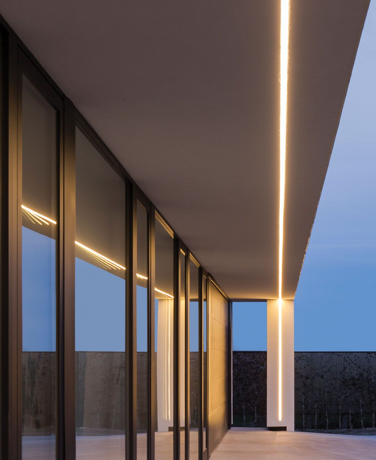 external lighting ideas. Private Residence (BE). External LightingLinear Lighting Ideas