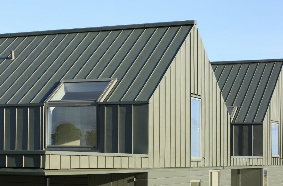 Zinc Roof And Walls House Exterior Zinc Roof Architecture House