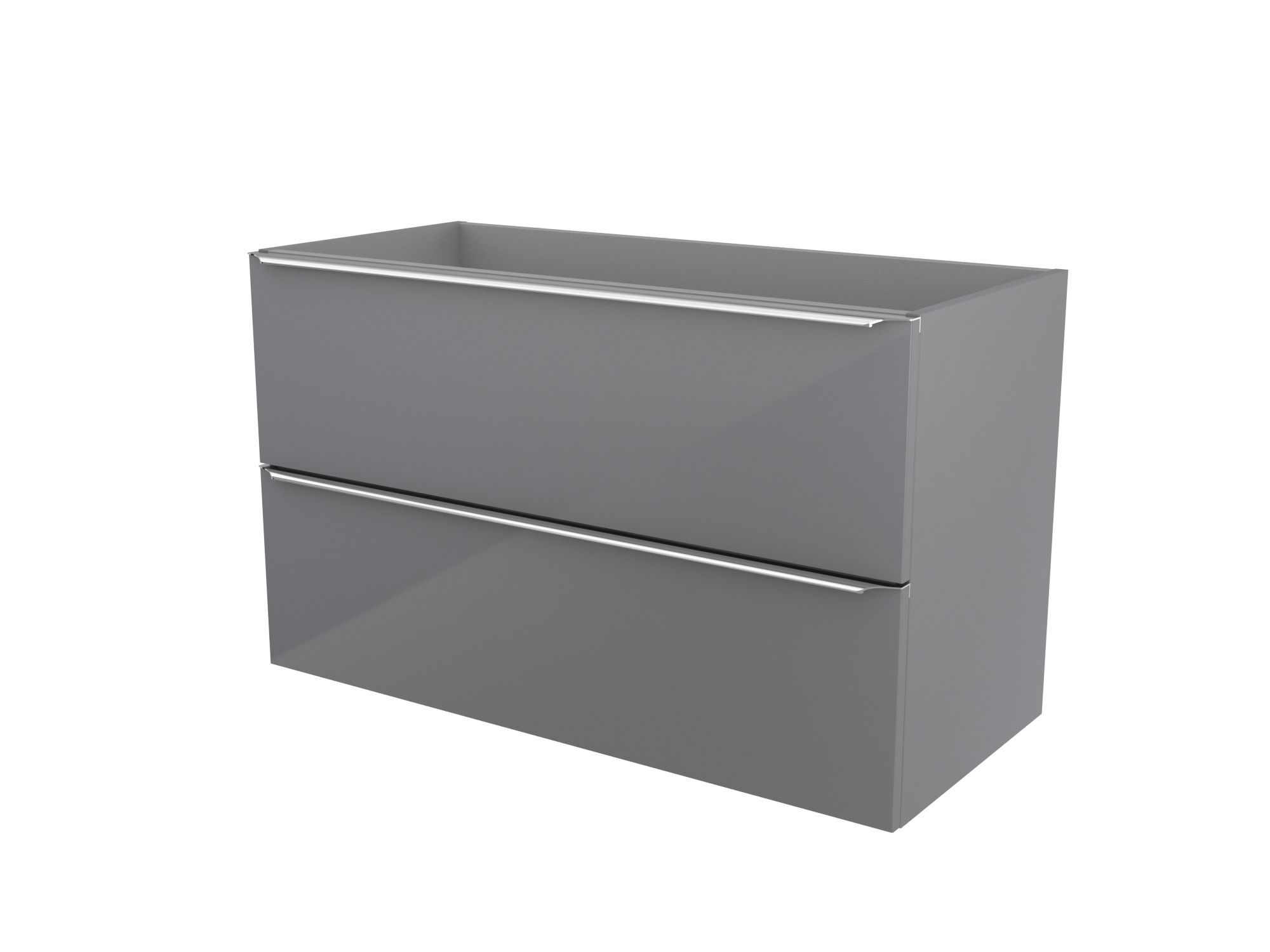 cooke lewis imandra gloss grey vanity basin unit w 1000mm