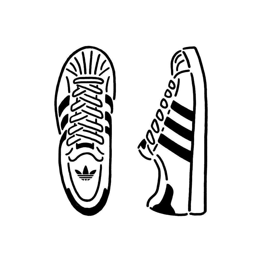 buy popular 84edb 90946 SUPERSTAR 80s Adidas Drawing, Tenis Adidas, Adidas Shoes, Shoes Sneakers,  Adidas Outfit